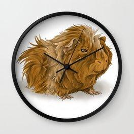 grumpy old guinea pig  Wall Clock