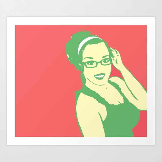 self portrait 2 Art Print