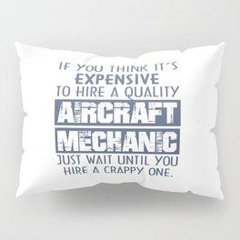 Aircraft Mechanic Pillow Sham
