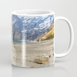 Oeschinen Lake Bernese Oberland Switzerland Coffee Mug