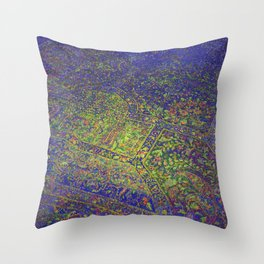 Bob Lives Here Throw Pillow