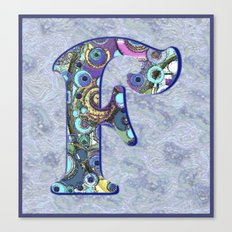 The Letter F Canvas Print