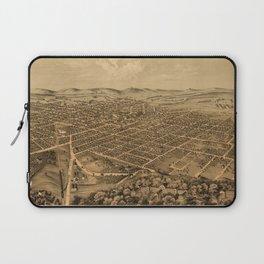 Map Of Kalamazoo 1874 Laptop Sleeve