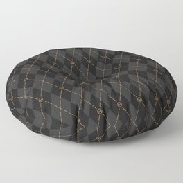 Modern Gentleman's Armour Floor Pillow