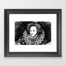 Queen Elizabeth I Portrait  Framed Art Print