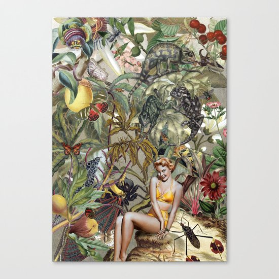 BOMBUS TERRESTRIS Canvas Print