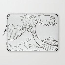 The wave of Kanagawa Laptop Sleeve