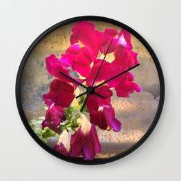Snap dragon Wall Clock