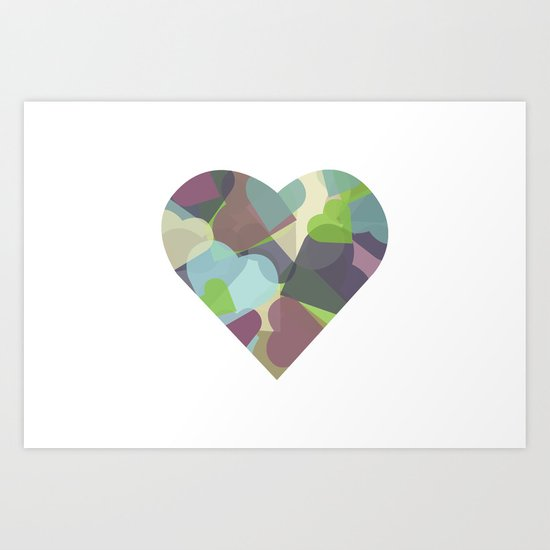 HEARTFUL Art Print