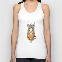 lantern Tank Tops featuring Lantern by About Time Mr Wolfe