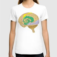 brain T-shirts featuring Brain by FACTORIE