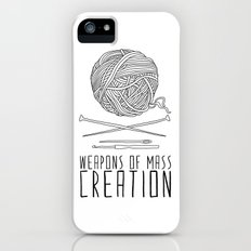 Weapons Of Mass Creation - Knitting iPhone SE Slim Case