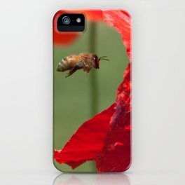 The Levitating Bee iPhone Case