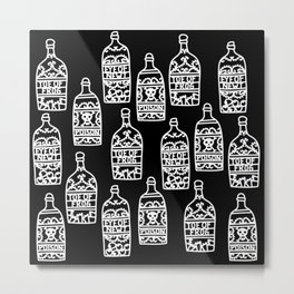 Time for a brew? Potions Metal Print