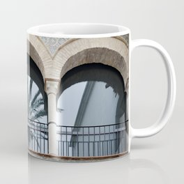 Palm Tree Reflection Coffee Mug