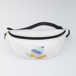 Volleyball Athlete Leaper Leapling Leap Year Baby Sports Player Number 4 Birthday Fanny Pack