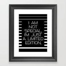 Special Edition Framed Art Print