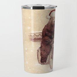 A Barnabus Christmas Travel Mug