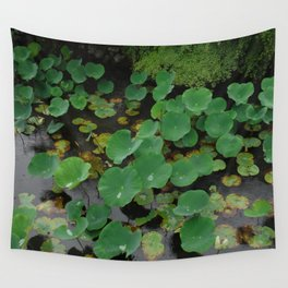 Pond Pads 2 Wall Tapestry