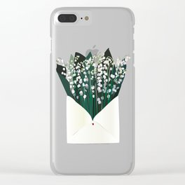 Send Lily to the Valley Clear iPhone Case