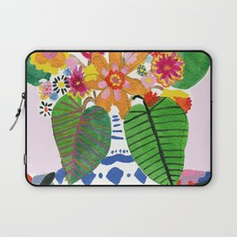 Abstract Flower Bouquet Laptop Sleeve