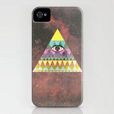 Pyramid in Space. iPhone (4, 4s) Slim Case
