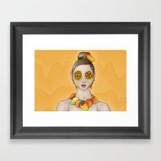 Mango Summer Framed Art Print