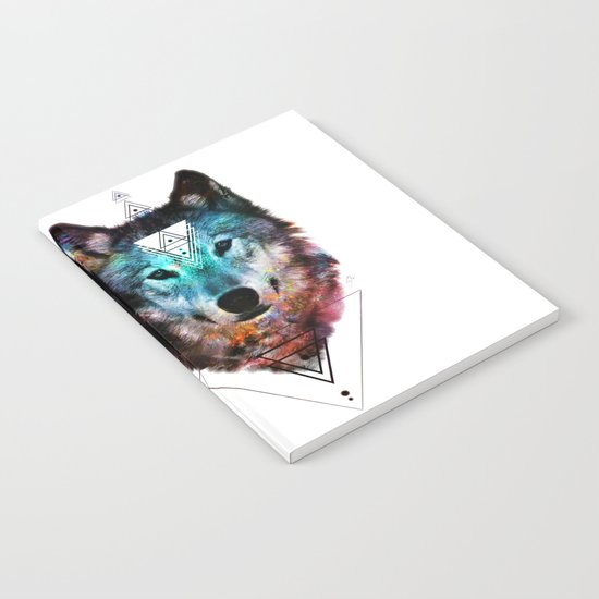 Sacred Wolf Notebook