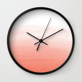 Blush Wash Wall Clock