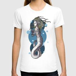 Sea Lamprey Mermaid T-shirt