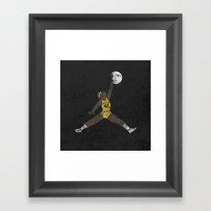 air teen wolf Framed Art Print
