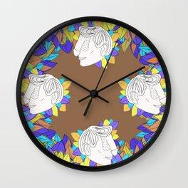 Dickface VI Wall Clock