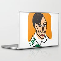 pablo picasso Laptop & iPad Skins featuring Picasso by John Sailor