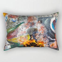 Human I Rectangular Pillow