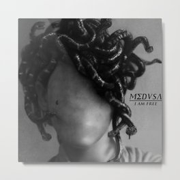 The Medusa Metal Print