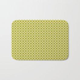 Quatrefoil Lime Bath Mat