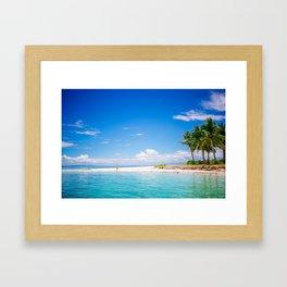 Philippines - Island II Framed Art Print