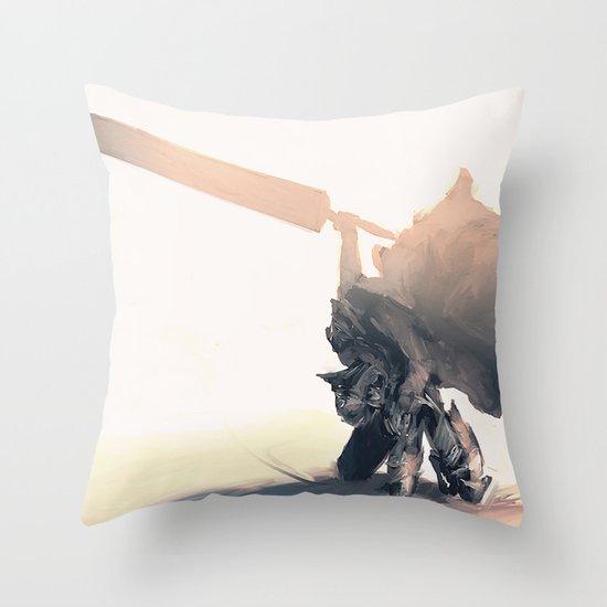 Berzerk Throw Pillow