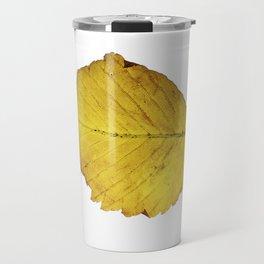 Leaf Isolated Travel Mug
