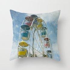 Ferris Wheel Throw Pillow