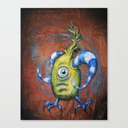 """""""I can do it myself"""" Canvas Print"""