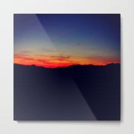 Biltmore Sunset Metal Print