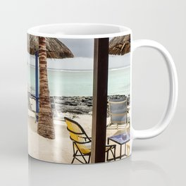 Mauritius, Hotel beach Coffee Mug
