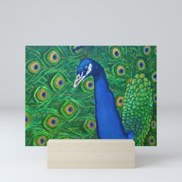 Peacock Mini Art Print
