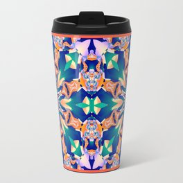 Abstract kaleidoscope with tribal patterns Travel Mug