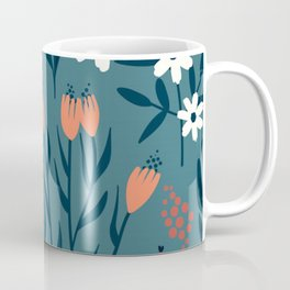 HAND PAINTED AUTUMN / SPRING FLORAL BOUQUETS Coffee Mug