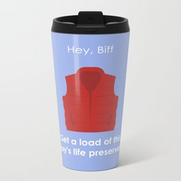 Back to the Future - Life Preserver Metal Travel Mug