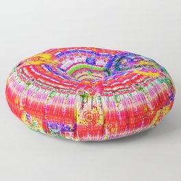 Fractal Kaleidescope Floor Pillow