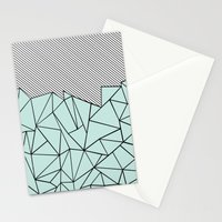 Ab Lines 45 Mint Stationery Cards