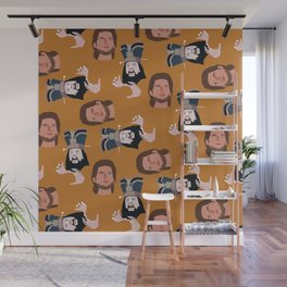 trouble Wall Mural